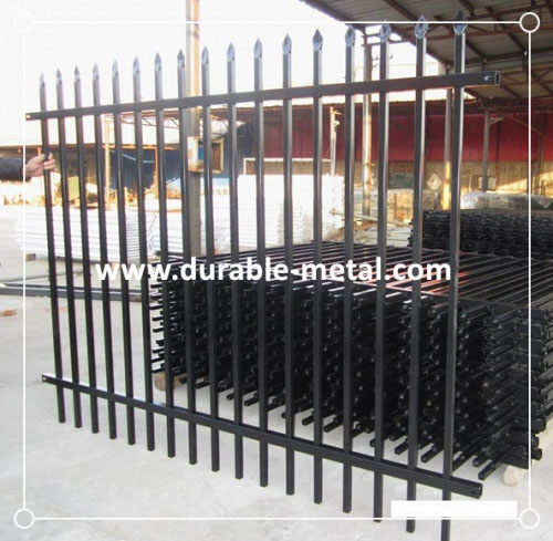 Powder Coated Ornamental Steel Fence