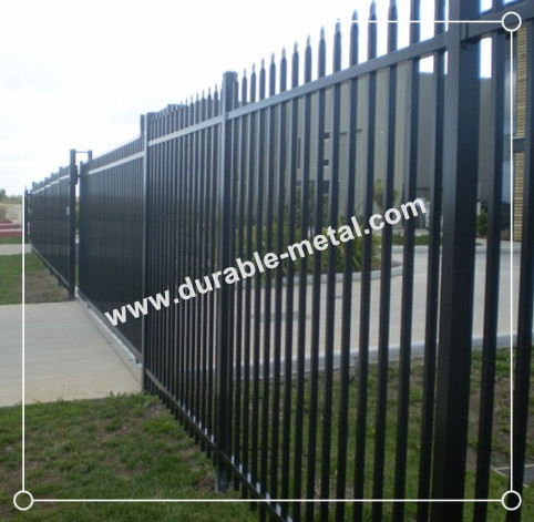 Welded Ornamental Iron Fence