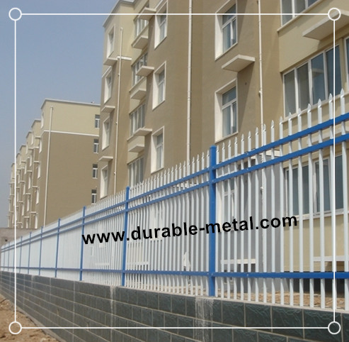 Ornamental Steel Boundary Fencing