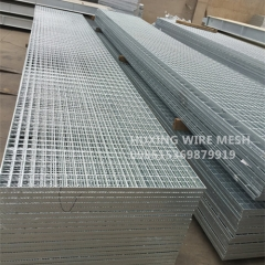 Smooth Finishing Hot Dipped Galvanized Weld Steel Grating Serrated & Plain Steel Bar Grate