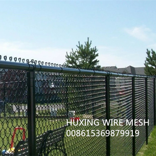 Sell 8 Feet PVC Coated Chain Link Mesh Fabric for Security Fence