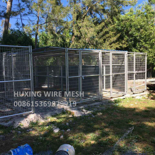 Weld Mesh Kennel Application in USA
