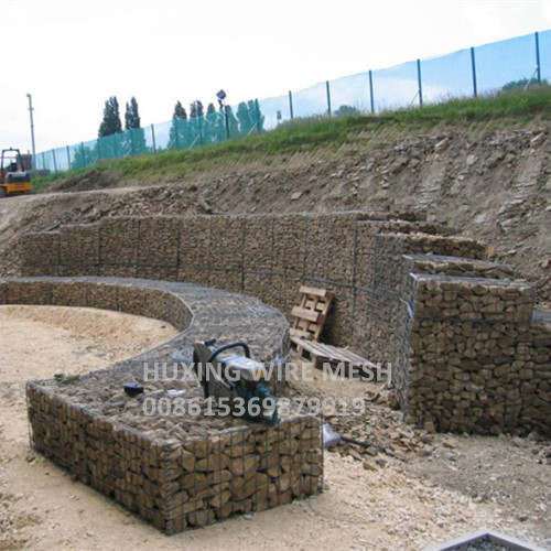 Weld Gabions Retaining Wall Project
