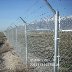 Chain Link Mesh Perimeter Security Fence