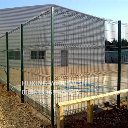 D Post Welded Mesh Fencing