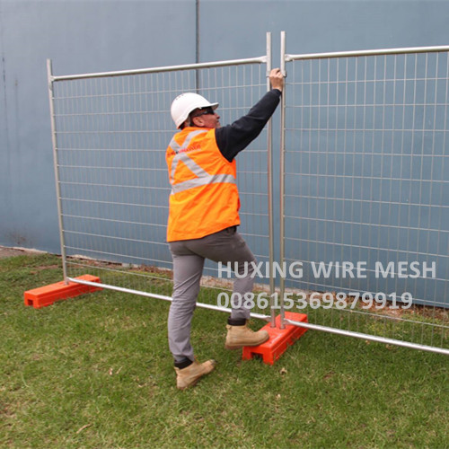 Australia Temporary Construction Site Fence