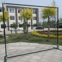 6′*9.5′ Canada Standard PVC Powder Coated Wire Mesh Temporary Fence Panels