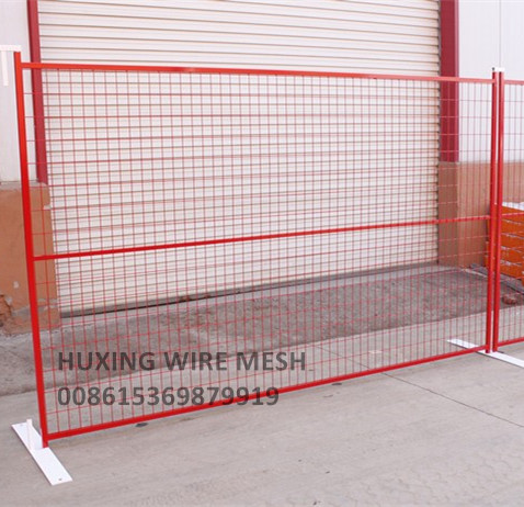 PVC Powder Coated Portable Fence Panel