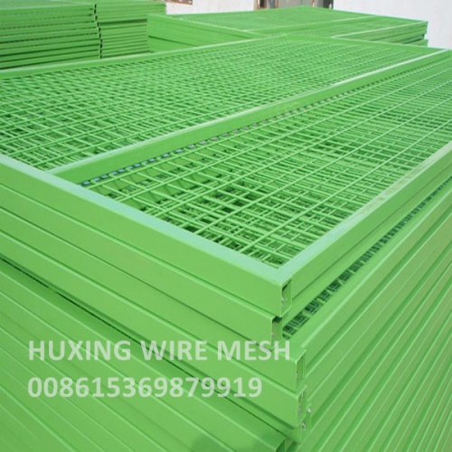 6'x10' Portable Fence Panels Construction Site Metal Temporary Wire Fence Panel