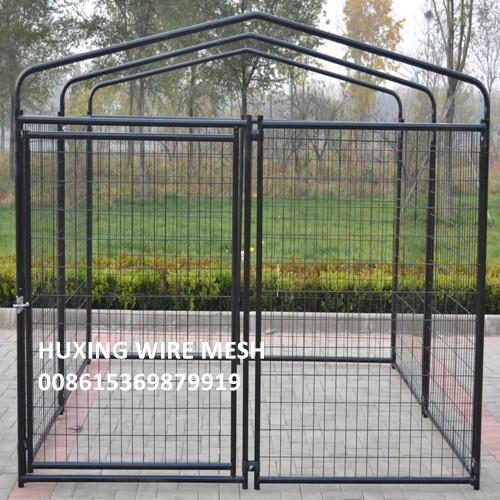 Pet Dog Kennel Run Enclosure Wire Mesh Steel Play Pen Fence
