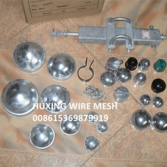 Commercial Hot Galvanized Chain Link Fence Parts