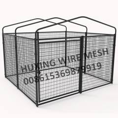 Large Pet Enclosure Outside Dog House Steel Wire Dog Fence Kennel Kit
