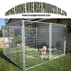 Modular Kennels Welded Wire Mesh Dog Run Enclosure